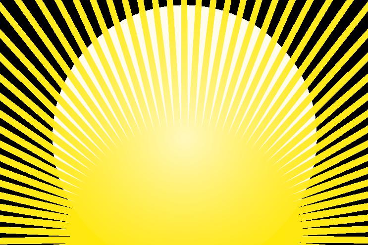 Sonne gelb